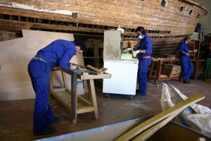 Curso carpintería de ribeira